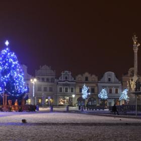 Náměstí po oslavě Nového roku