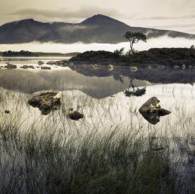 Lochan na h-Achlaise, Highlands