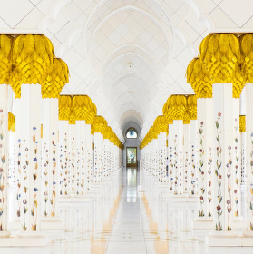 Velká mešita šejka Zayeda Abu Zabí, 2.zastavení