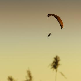 Let při západu slunce