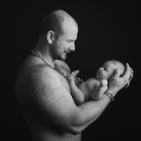 ... s tatínkem