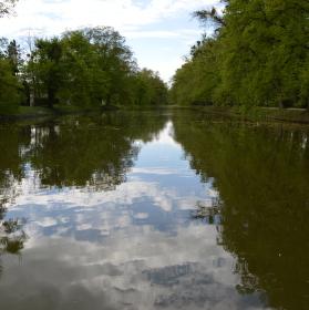 Rybník v Podzámecké zahradě
