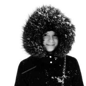 Zima jí sluší