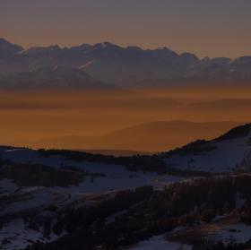 vzpomínka na večerní lyžování