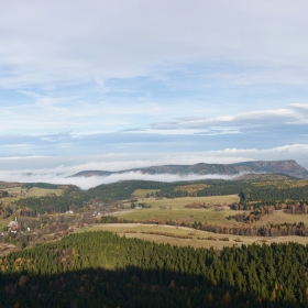 Panorama ze Szczelince