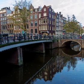 Podzim v Amsterdamu
