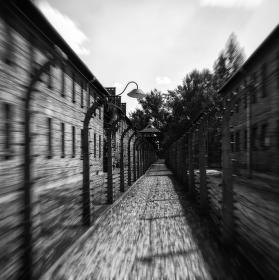 útěk mezi dráty