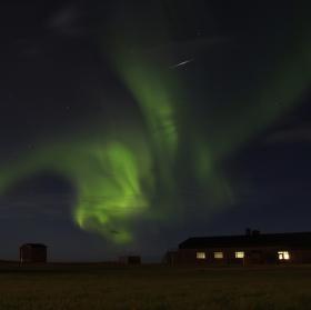 Island, aurora borealis