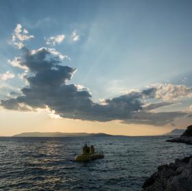Yellow submarine na Makarské