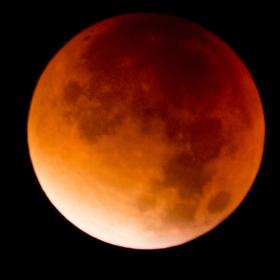 Krvavý Měsíc v Brně