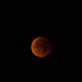 Krvavý Měsíc a Zatmění