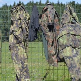 Ráno na Army Campu