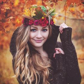 Natálka - podzimní portrét