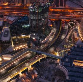 Světla Dubaje