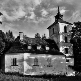 kostelík v Čenkovicích
