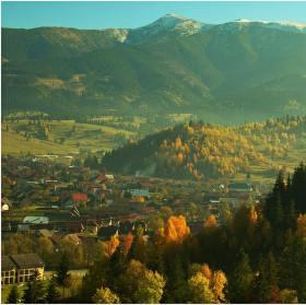 Pohorská vesnička....