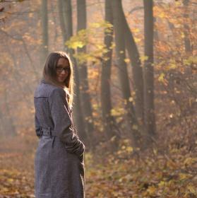 V podzimní mlze