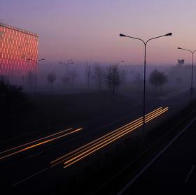 Podvečerní světla města