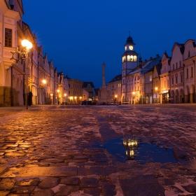 Masarykovo náměstí Třeboň ...