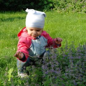 Nicolca si užívá jaro