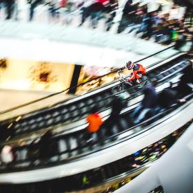 Trénink panningu v obchodním centru