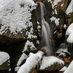 Zimní vodopadání