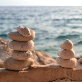 Plážové kamínky