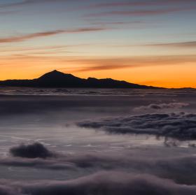 Svítání nad Tenerife