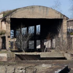 Kladenské železárny III. rudné zásobníky (Vojtešská huť)