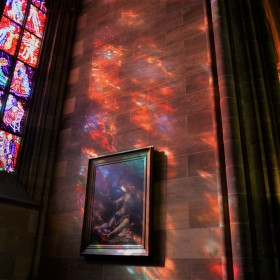 Svatovítské vitráže