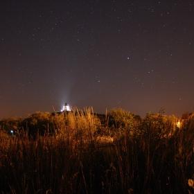 Noční nebe nad Humprechtem