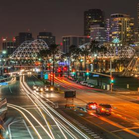 Večerní Long Beach