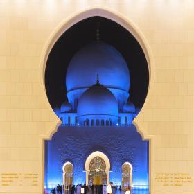Sheikh Zayed Mosque - Abu Dhabi