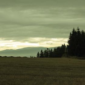Šumava v dáli