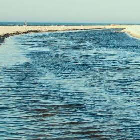 ústí řeky Piasnica
