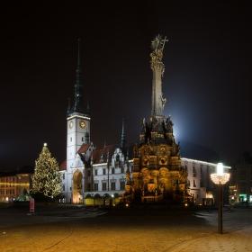 Noční Olomouc (Horní náměstí)