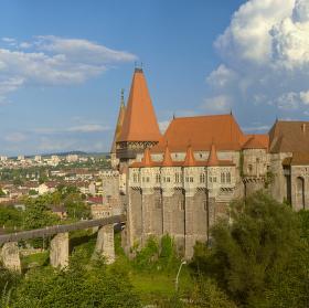 Rumunsko - hrad Corvin