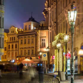 jedna z pražských krás