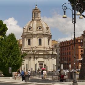 Kostel Santissimo Nome di Maria al Foro Traiano