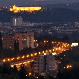 Pohled na Brno od severu...