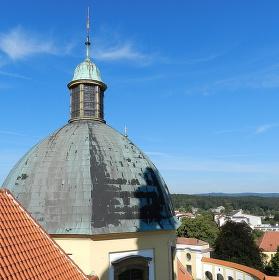 Bazilika Panny Marie, Kopeček