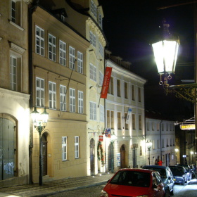 noční procházka Prahou