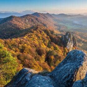 Podzim na Sulovských skalách