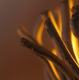 Netradiční svíčka
