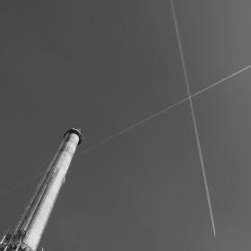 Křížení nad komínem