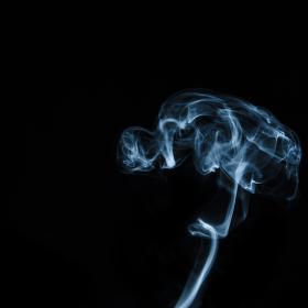 Hraní s kouřem