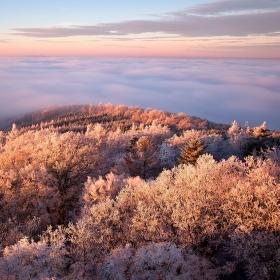 zimní ráno na Babecu II.