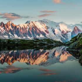 Zrcadlo pro Mont Blanc