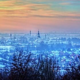 Zimní pozdní odpoledne
