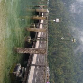 Molo u jezera v Berchtesgadenu